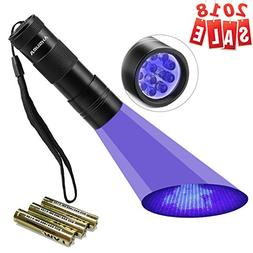 Black Light UV Flashlight UV Light,Vansky Blacklight 12 LED