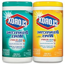 Clorox Disinfecting Wipes Value Pack, Bleach Free Cleaning W