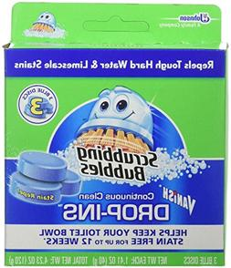 Scrubbing Bubbles Continuous Clean Drop-Ins, Blue Disc, 3 ct